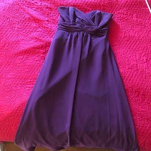 Strapless Aline formal dress